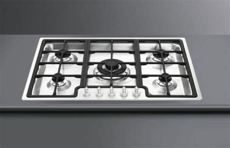 28 Inch Cooktop by Smeg Pgf75scu3 28 Inch Gas Cooktop With 5 Sealed Burners