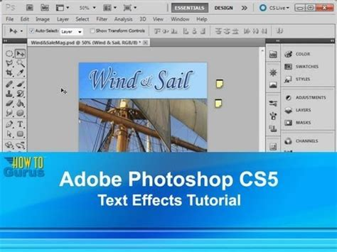 photoshop cs5 layers tutorial pdf adobe photoshop cs5 text effect tutorial how to use type