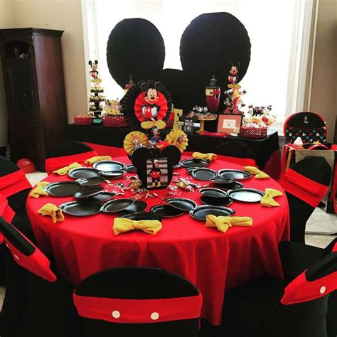 1000 Images About Mickey Mouse Party Ideas On Pinterest Mickey Mouse Table