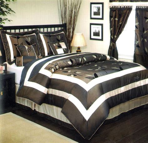 black satin comforter queen black 7pc floral satin bed in a bag comforter set queen ebay