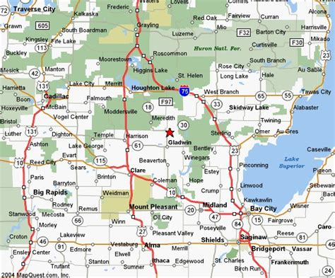 Of Michigan Search Show A Map Of Michigan Search Engine At Search