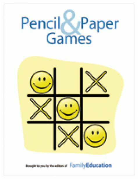 printable paper and pencil games travel games printables familyeducation