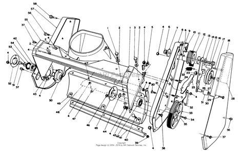 toro ccr 2000 parts diagram toro 38186 ccr 2000 snowthrower 1993 sn 3900001 3999999