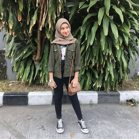 inspiration hijab style outfit   day ootd