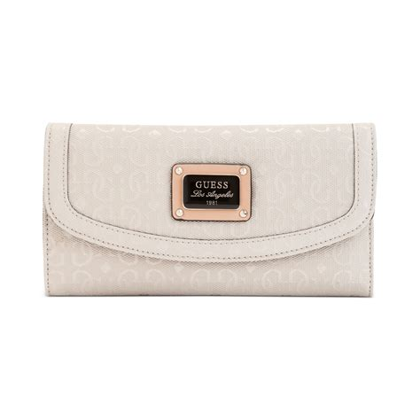 Can You Guess All Four Designer Clutches by Guess Handbag Specks Multi Clutch Wallet In Lyst