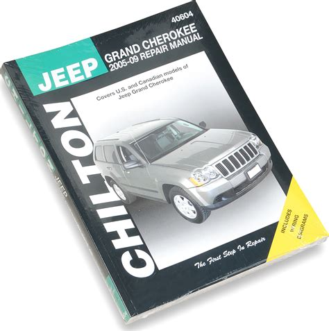 online car repair manuals free 2012 jeep grand cherokee user handbook chilton 40604 repair manual for 05 09 jeep grand cherokee wk quadratec