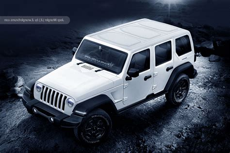 white jeep 2018 2018 jeep wrangler release date redesign price