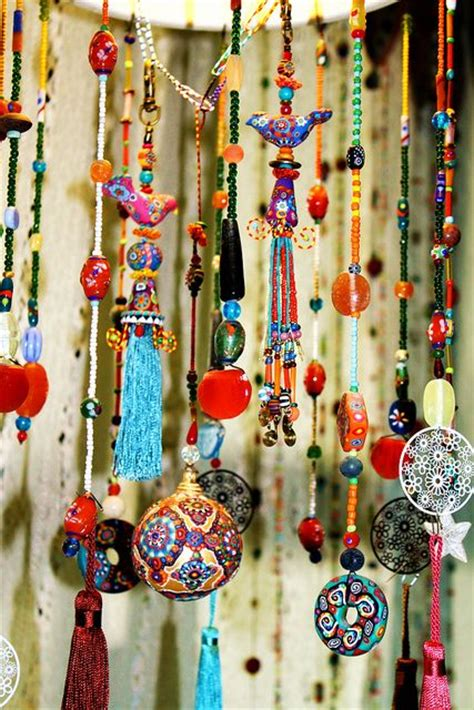 home decor hanging beads living with beads by aowdusdee via flickr