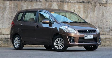 Suzuki Ertiga Review 2015 Suzuki Ertiga 1 4 Glx A T Carguide Ph