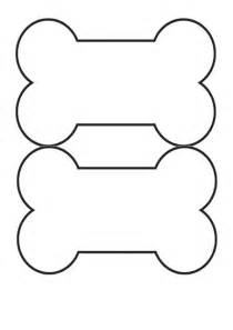 Bone Template by Free Printable Bone Template Crafts