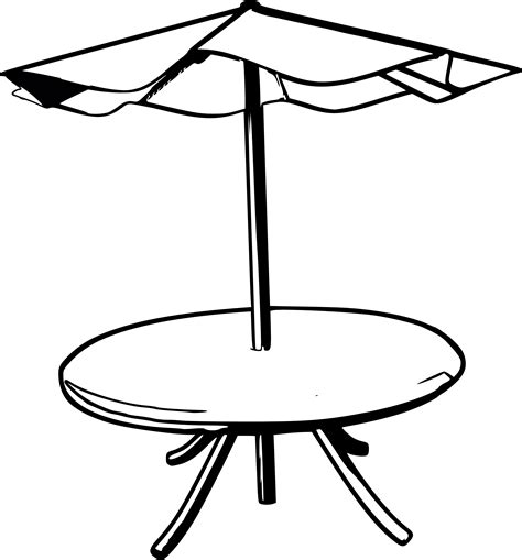 clip on table umbrella umbrella table clipart clipart suggest
