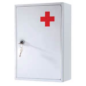 new cabinet aid wall mounted medicine kit