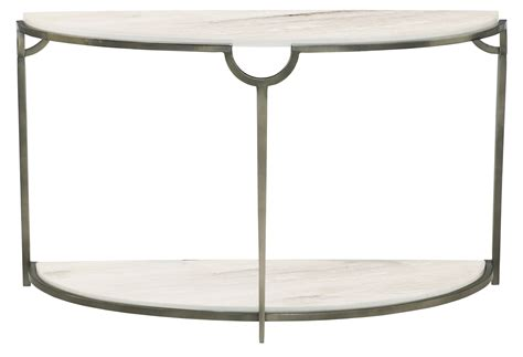 demilune console table demilune console table bernhardt