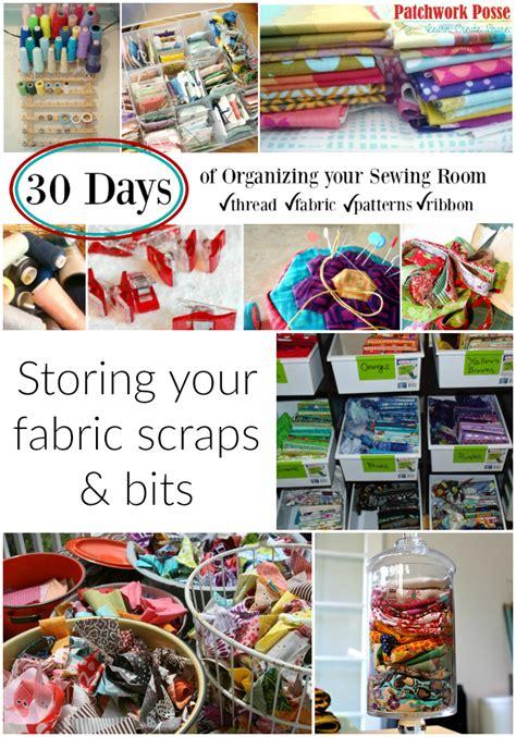 Storing Fabric Scraps