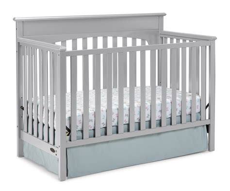 Graco Crib Models by Graco 4 In 1 Convertible Crib Pebble Gray
