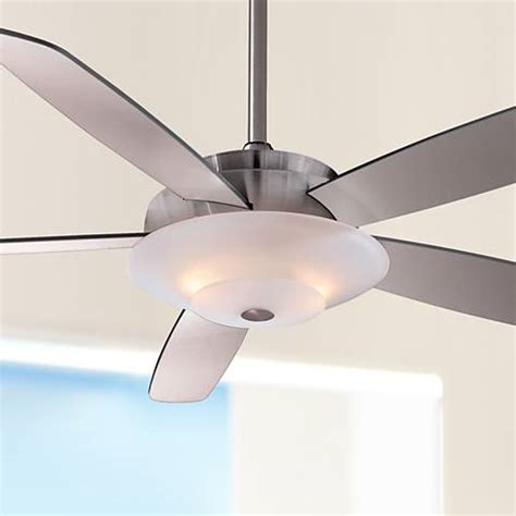 minka aire airus brushed nickel ceiling fan