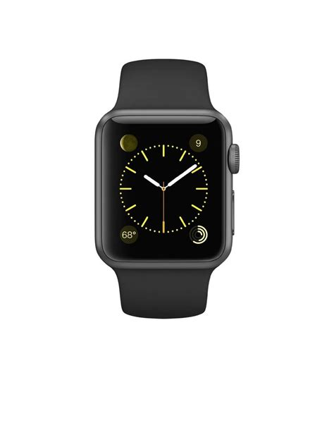 Apple Sport 38mm 7000 Series apple sport 38mm space gray aluminum with black