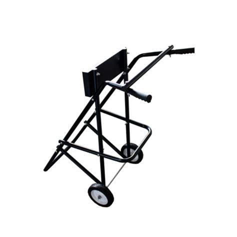 buitenboordmotor karretje kar trolley buitenboord motor stander standaard koning