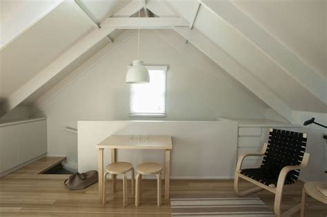 Apartment With Garage Ta Small Space Living An Airy Studio Apartment In A Garage