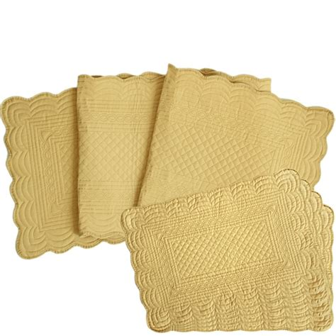 free shipping set of 1 pc polyester cotton quilted table