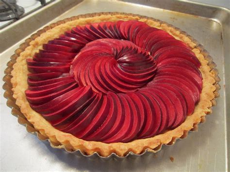 recipe rustic plum tart recipe food world news