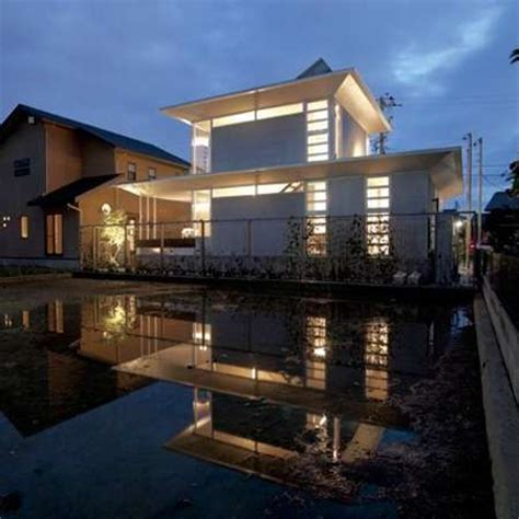 piped prefab homes   ring house  japan