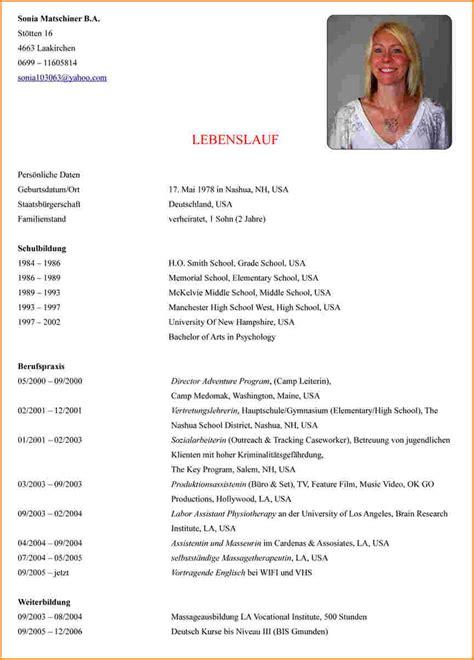 Lebenslauf Muster Zum Selber Schreiben 12 Lebenslauf Schreiben Reimbursement Format