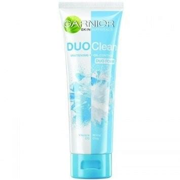 Garnier Icy Duo Foam 100 garnier duo clean whitening foam reviews