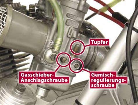 Sachs Motor Vergaser Einstellen by Mein Motorrad H 228 Lt Kein Standgas Leerlauf Motor