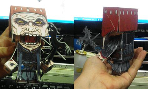 Witcher 2 Papercraft - tw2 dethmold paper craft pho by yuikami da on deviantart