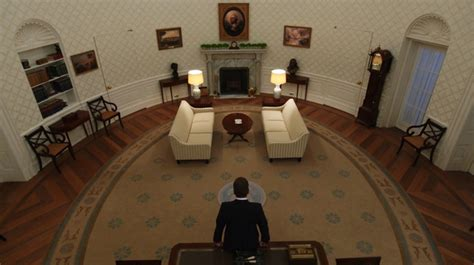 designated survivor white house set how designated survivor s designers built a replica oval
