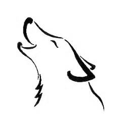 Simple Wolf Outline by 24 Simple Wolf Design And Ideas For Tattooing