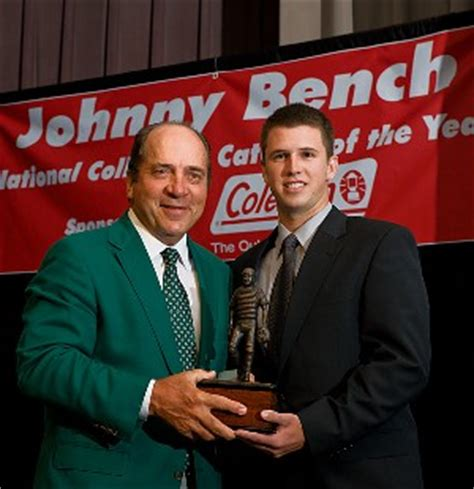 johnny bench award encyclopedia of baseball catchers johnny bench award