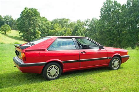1986 audi coupe gt with 3 390 miles german cars for sale blog