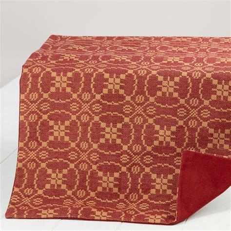 jacquard table runner marshfield jacquard table runner textiles and linens