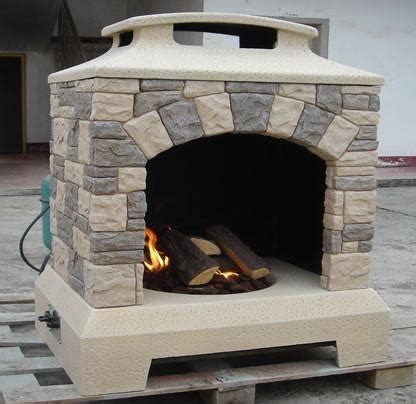 Gas Pit Deals Outdoor Backyard Fireplace Gas Pit W Logs Sdi