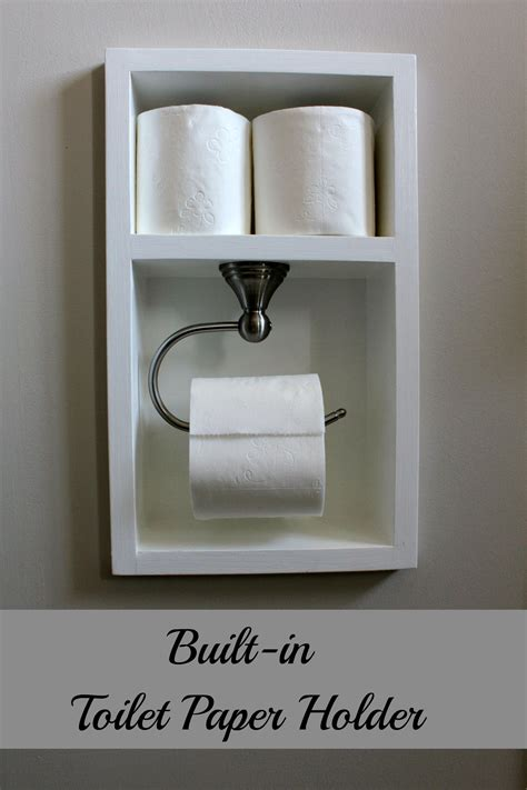 Toilet Tissue Holder by Turtles And Tails Recessed Toilet Paper Holder Aka