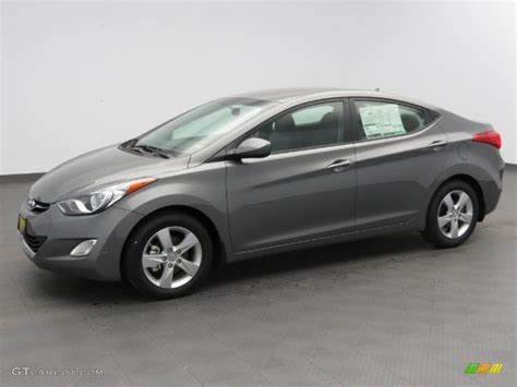 2013 harbor gray metallic hyundai elantra gls 78375337 gtcarlot car color galleries