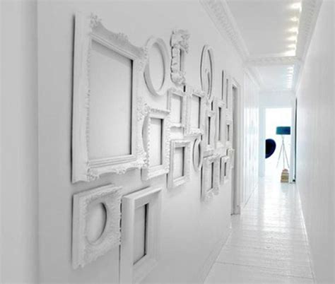 decorating walls ideas white decorating ideas white picture frames for bright