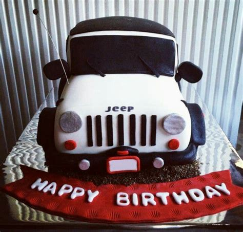 happy birthday jeep cake jeep cake jeeps pinterest jeep cake and jeep stuff