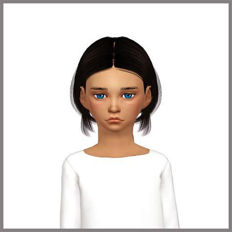 sims 4 children hair sims 4 hairs dani paradise chloe hair converted for