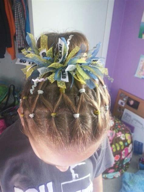 ideas  gymnastics hairstyles  pinterest