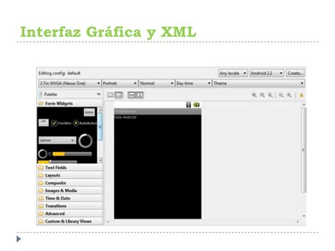 android layout xml group taller android parte1 android developers loja group