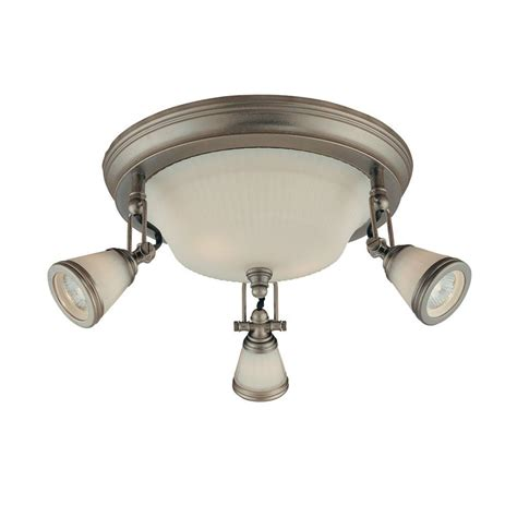 antique pewter light fixtures hton bay 5 light antique pewter ceiling semi flush