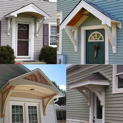 How To Make A Canopy Over Front Door