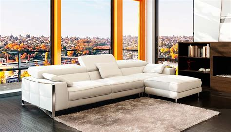 modern furniture sectionals modern leather sectional sofa vg060 leather sectionals
