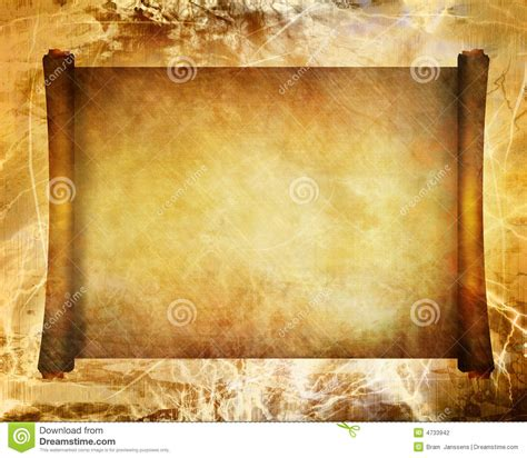 old ancient scroll stock illustration illustration of