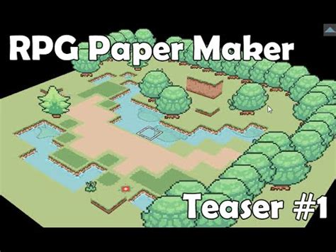 How To Make An Rpg On Paper - rpg paper maker teaser 1