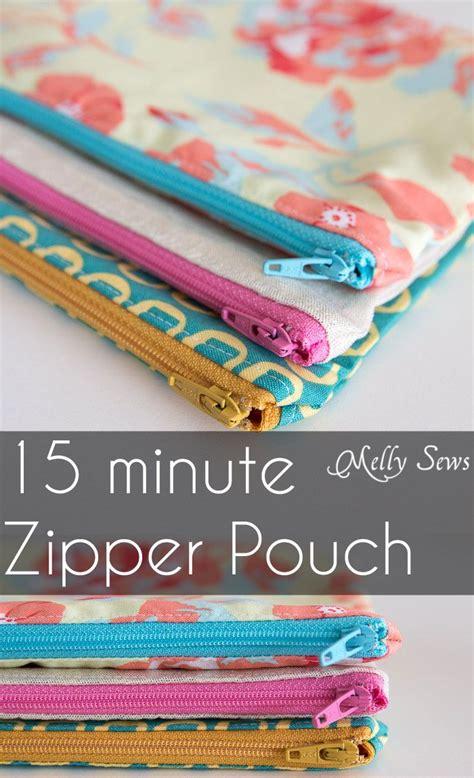sewing pattern zipper case how to sew a zipper pouch tutorial pouches tutorials