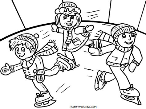 hockey rink coloring pages free printable winter coloring pages for kids crafty morning